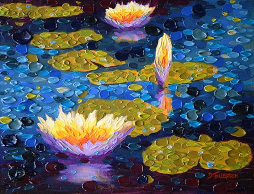"""Evening's Light Pond One"""