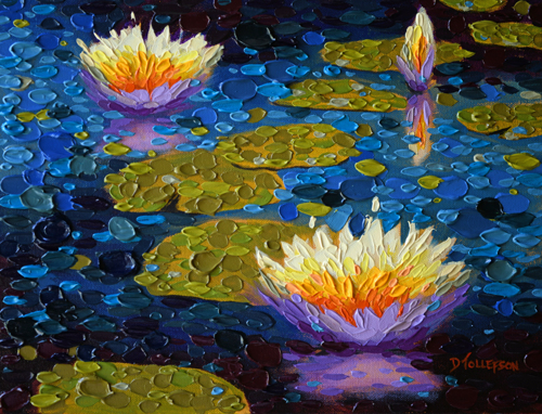 """""""Evening's Light Pond Two"""""""