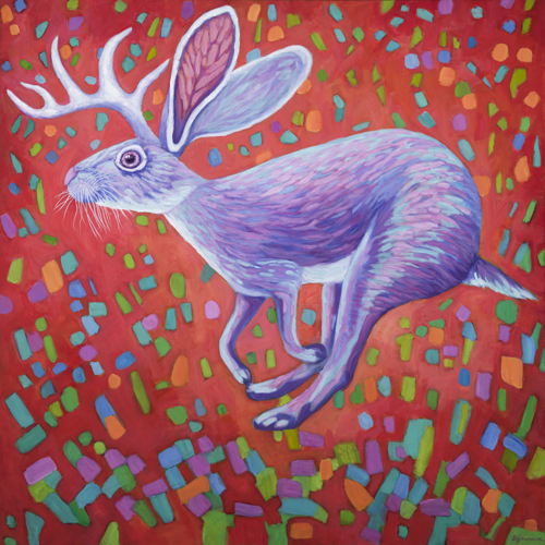 Jumping Jackalope Flash