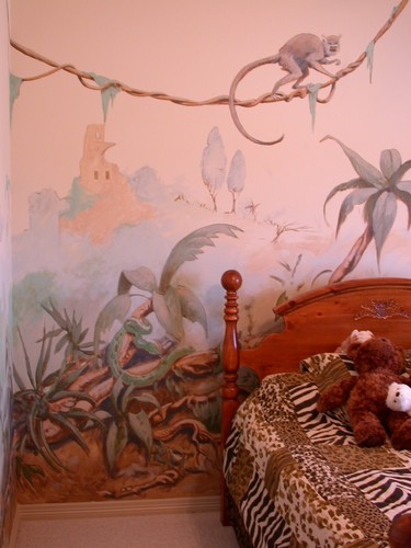 Jungle Room Detail I