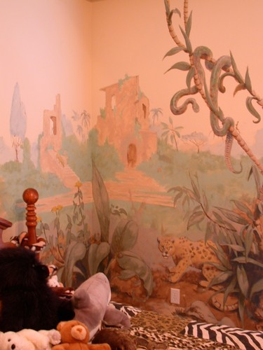Jungle Room Detail II