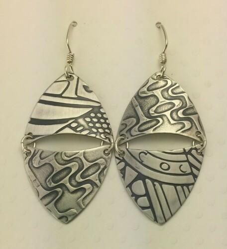 Double Shield Earrings