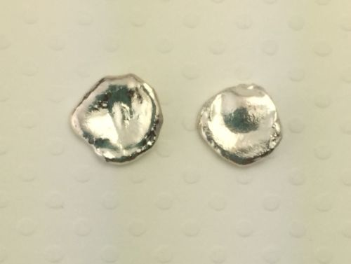 Small Puddle Stud Earrings