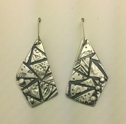 Angular Triangles Earrings