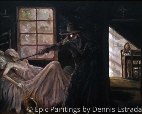 Schnabel by Epic Paintings by Dennis Estrada