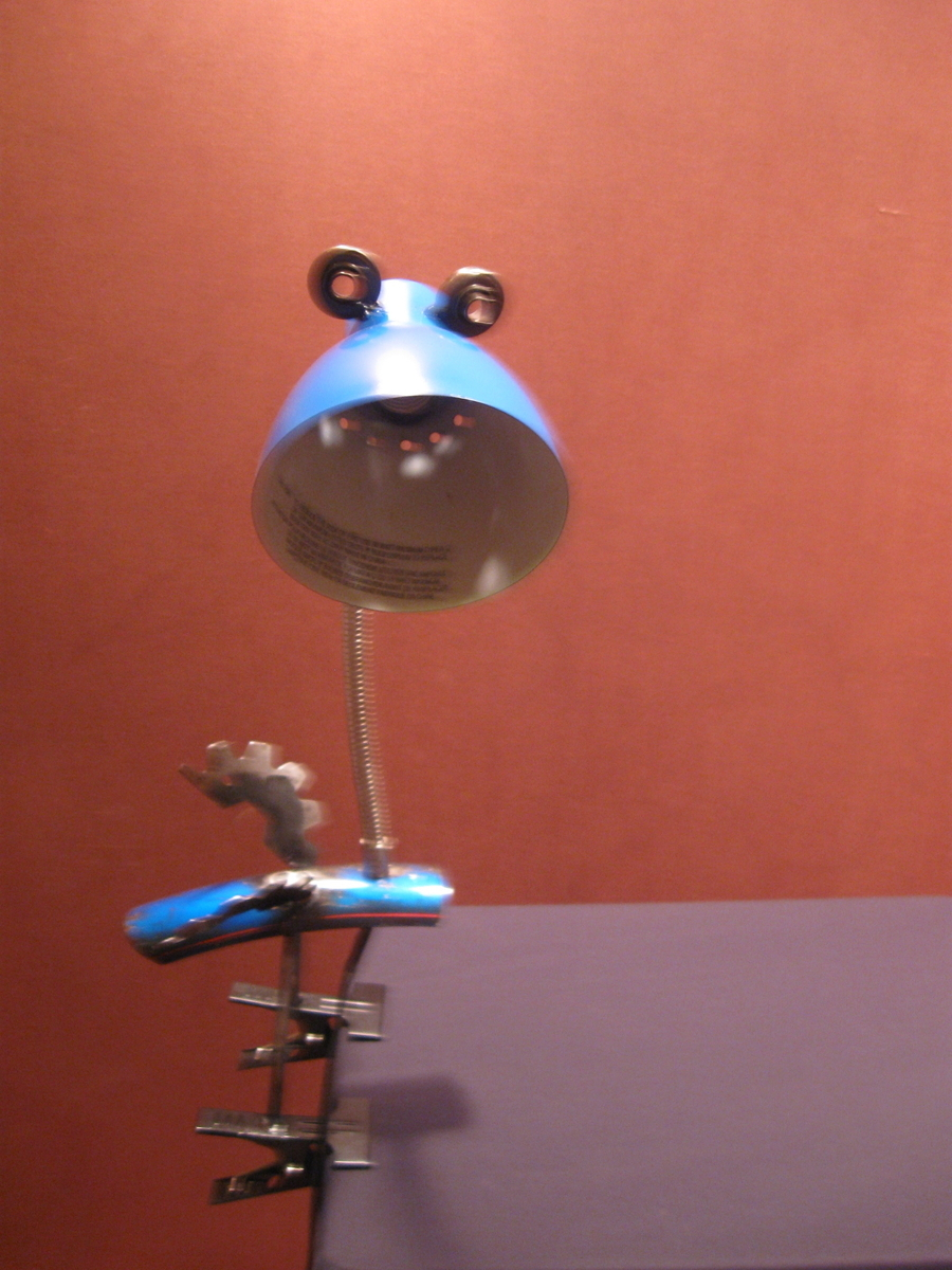 powder blue lamp bird (large view)