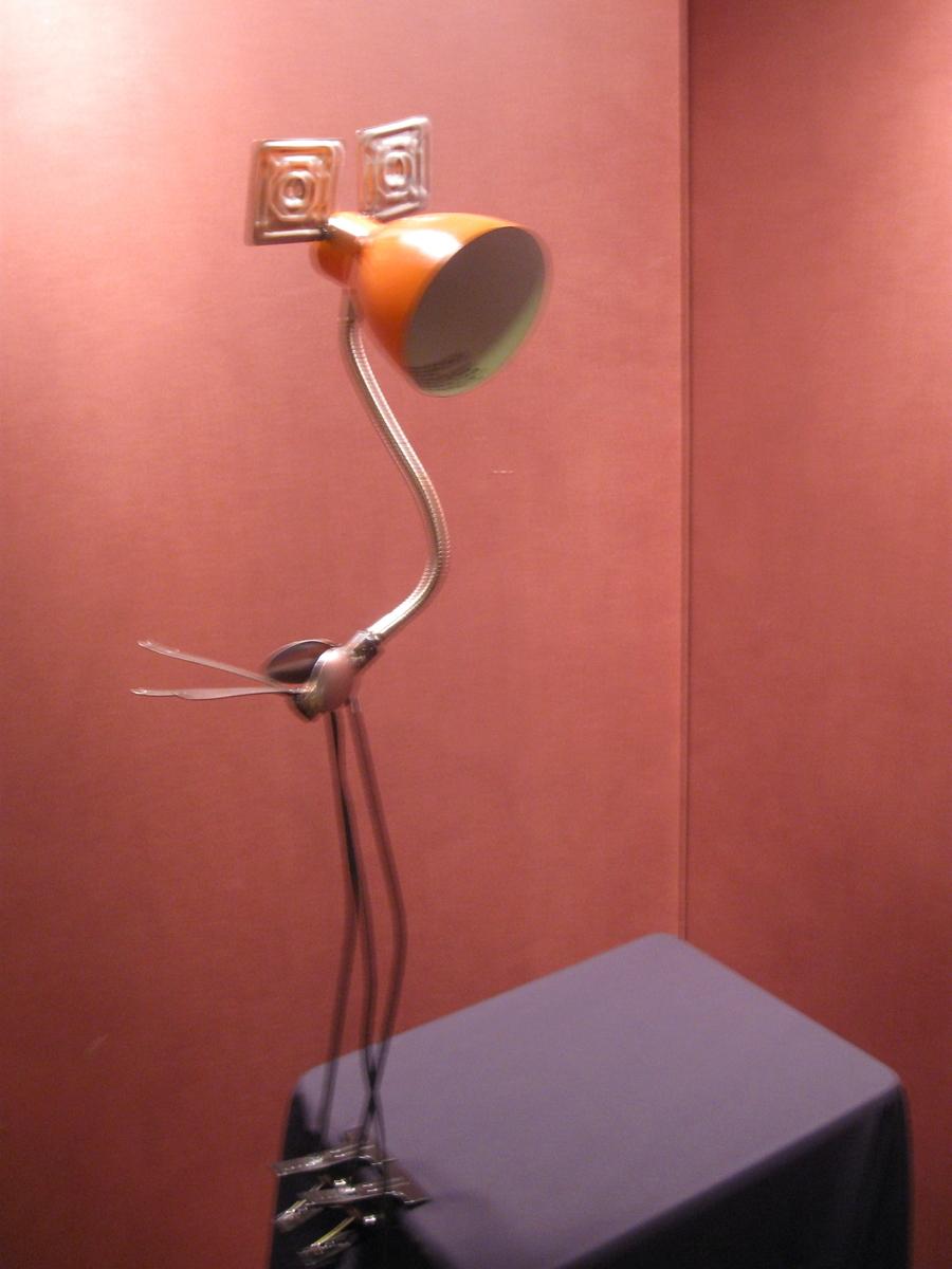 orange lamp bird (large view)