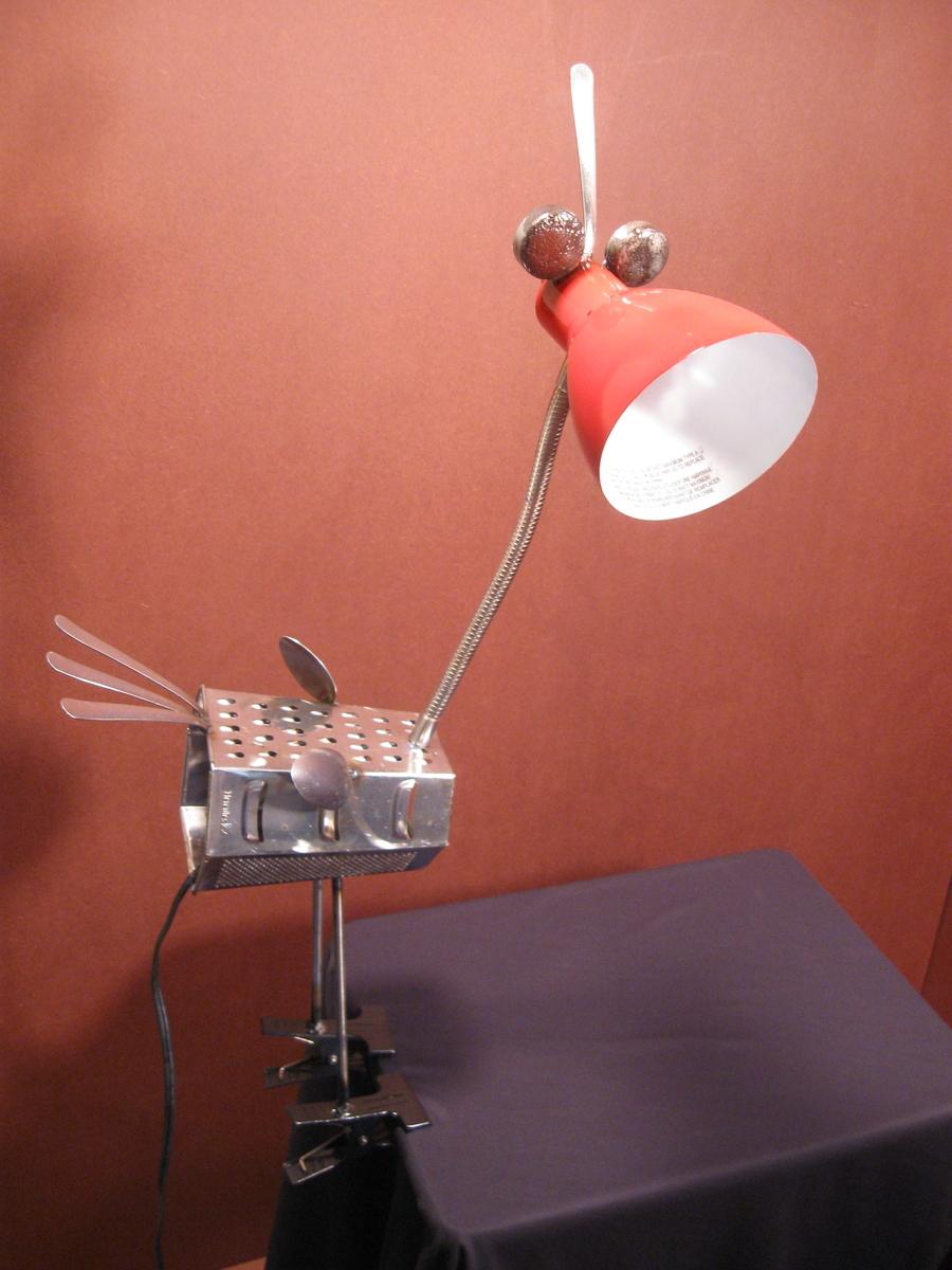 lamp bird linda (large view)