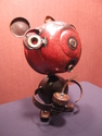 red bear with acorn  (thumbnail)