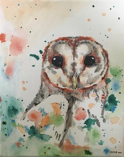 Barn Owl by MERAKI ARTEM
