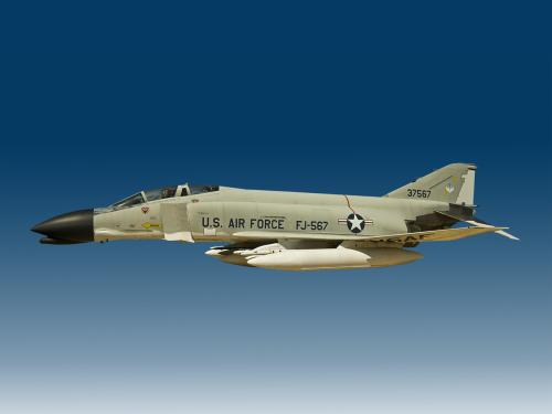 US Air Force F4 Phantom