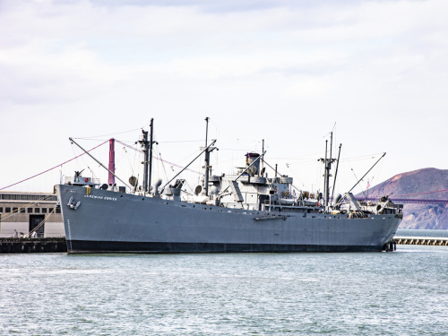 WWII Liberty Ship