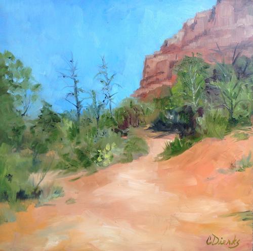 Sedona Hike by Connie Dierks Fine Art