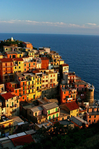 Manarola, Italy    (Cinque Terre) by Dan Geldert Fine Art Photography