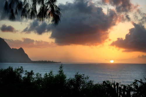 Sunset at Bali Hai, Kauai Hawaii