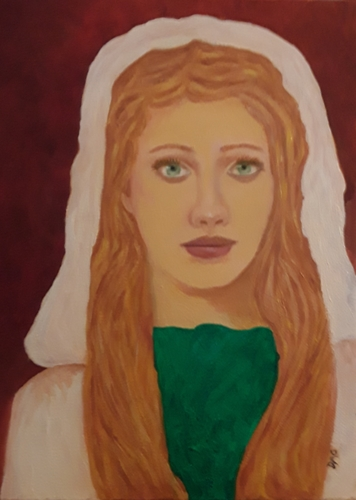 An Elvin Lady by Give the gift of original art!