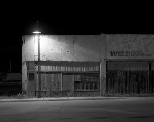 Welding (Santa Rosa, New Mexico) by David Hines