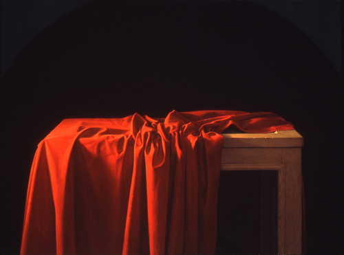 Red Drape with Arc (large view)