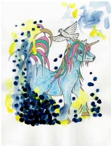 Unicorn by Dan G Art Studio/Pau Hana Illustrations