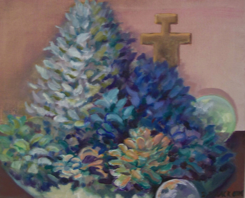 Cacti and Cross (large view)