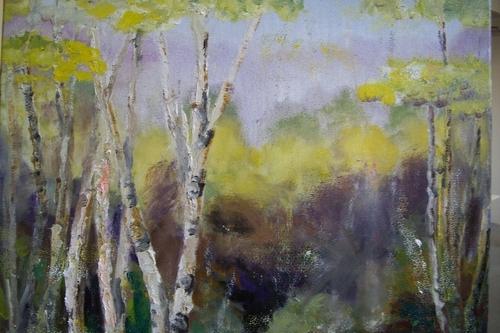 Door County Birches (large view)