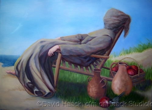 Friar at rest