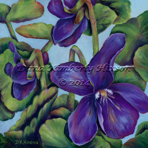 English Violets (large view)