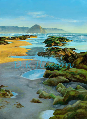 Sun, Saltwater & Sand by D. K. Hixson Art