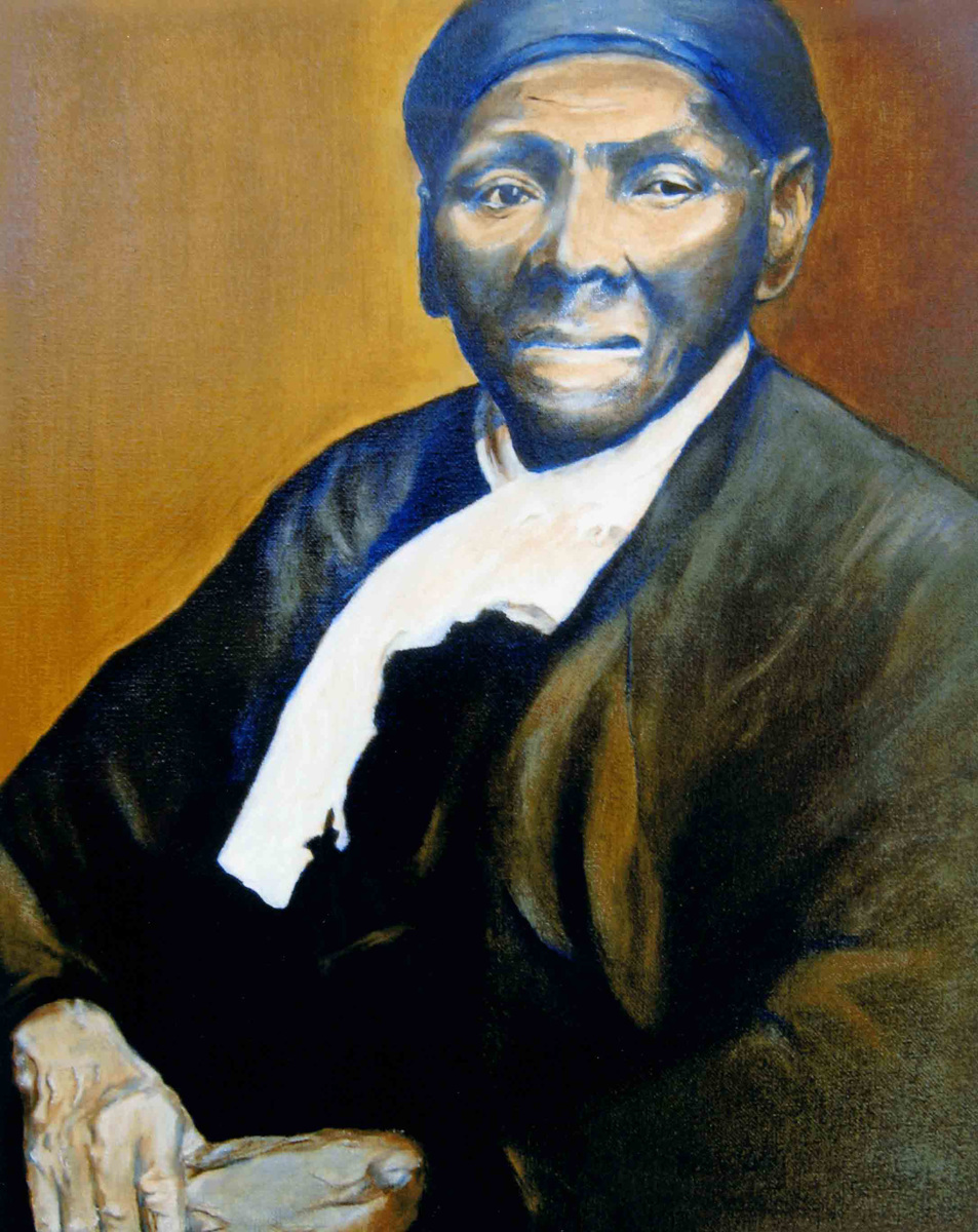 Harriet Tubman (1820 -1913) Oil painting  (large view)