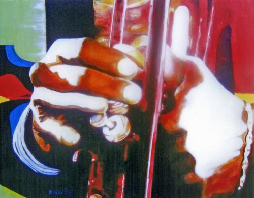Miles' Hands (III) by DONALD H.WALKER'S FINE ARTS