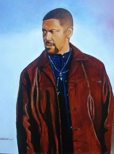 Denzel Washington in Training Day by DONALD H.WALKER'S FINE ARTS