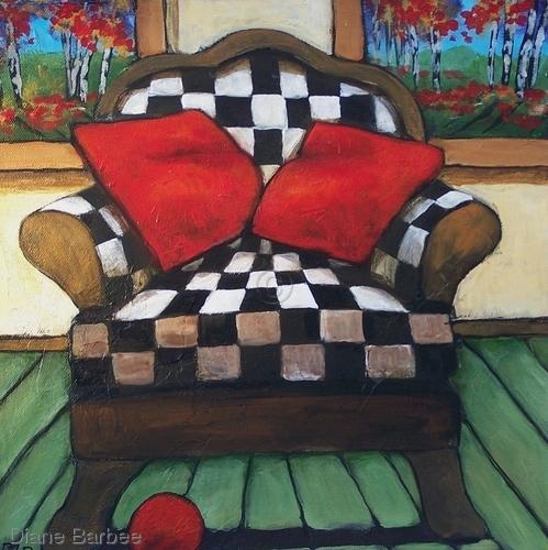 Checker Chair