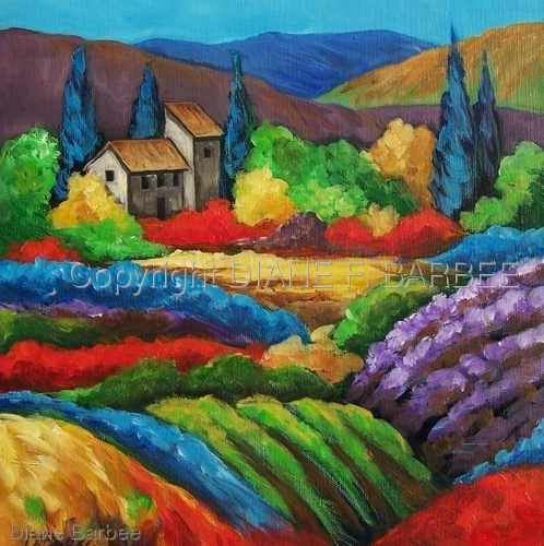 Colour of the Fields I
