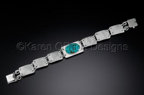 Land - Mountain Idyll Turquoise Bracelet