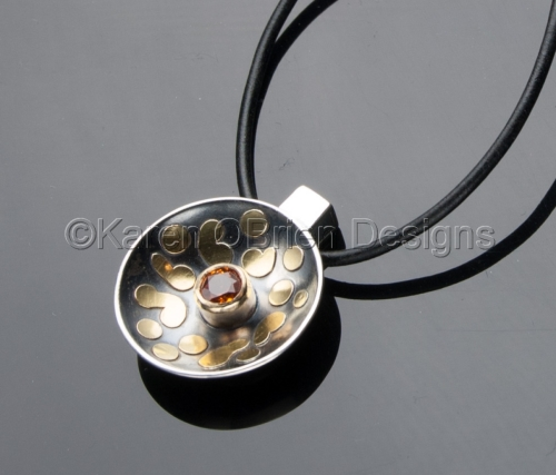 The Solar Disk Pendant