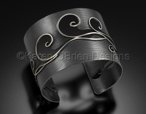 The Rolling Sea Cuff Bracelet