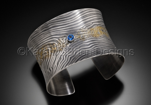 Beautiful Blue Across the Ecliptic Bracelet