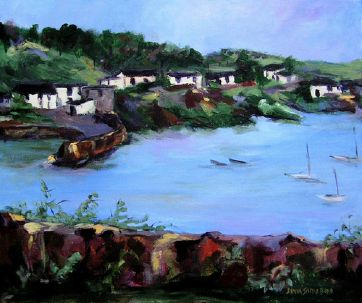 Glendora, A Fishing Village Outside of Schull, Ireland (large view)