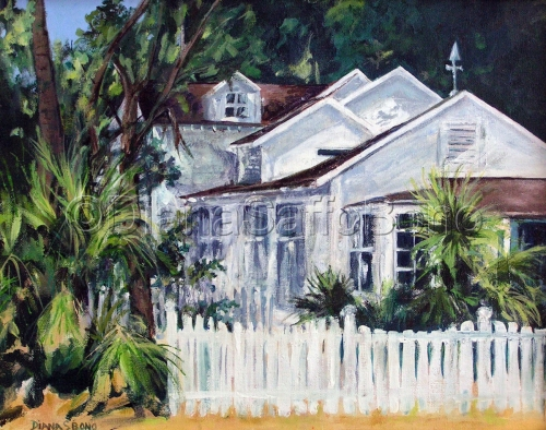 A Cottage on St. Simons by Diana Saffo Bono