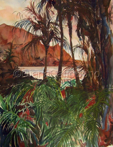 Kauai Sunset by Diana Saffo Bono
