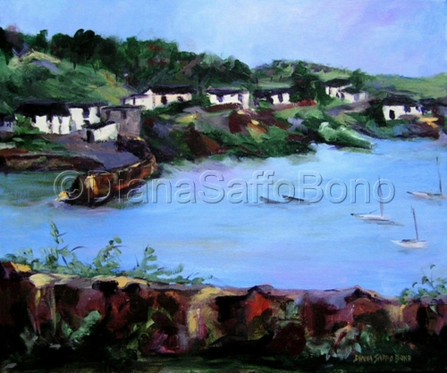 Glendora, A Fishing Village Outside of Schull, Ireland