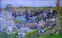 photos, acrylic - Cityscape Painting