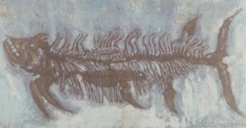 Ancient Fish by Diane Dauz Bassin