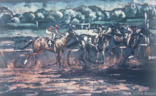 Racetrack by Diane Dauz Bassin