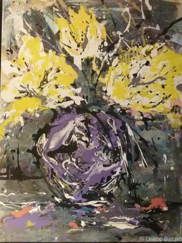 Yellow Rush by Diane Dauz Bassin