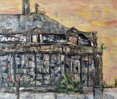 Empty Warehouse by Diane Dauz Bassin
