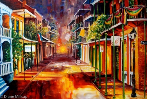Twilight in New Orleans - SOLD