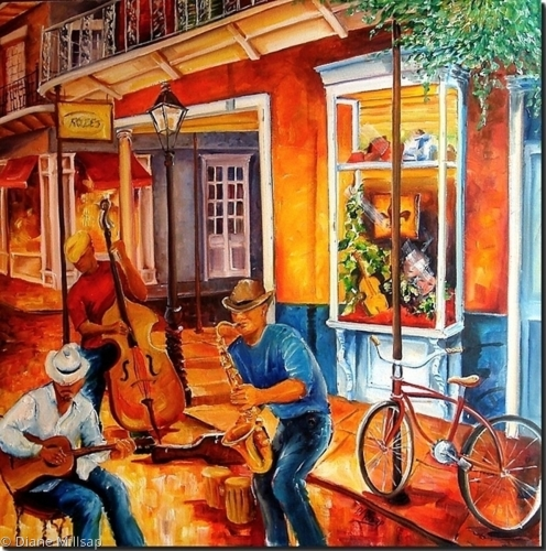 Jazz Jam on Royal Street - SOLD