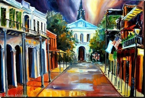 Evening on Orleans Street - SOLD