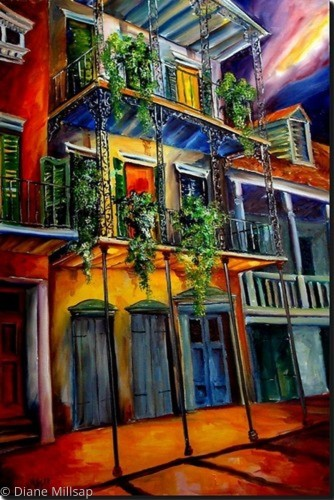 Mysterious French Quarter - SOLD